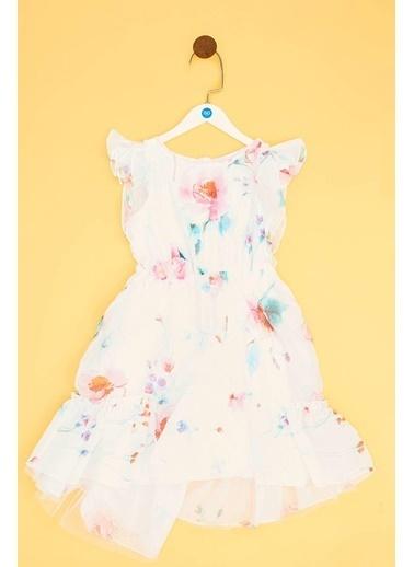 Lia Lea Lia Lea Kız Çocuk Şakayık Elbise 19SSLL01622 Renkli